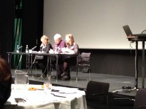 From left Bernadette Lynch, Peter Higgins & Alex Burch